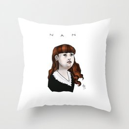Nan Throw Pillow