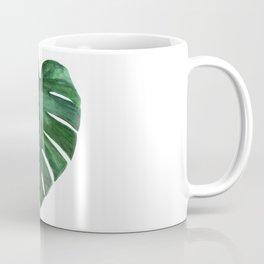 Watercolor Monstera leaf Coffee Mug