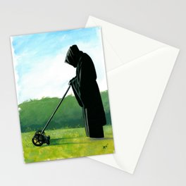 The Grim Mower Stationery Cards