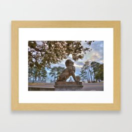 Lions Bridge At Sunset Framed Art Print