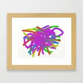 Random2 Framed Art Print