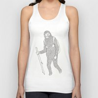 hiking Tank Tops featuring Hitch Hiking by veronika