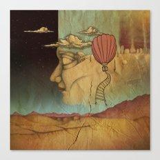 Overlands Canvas Print