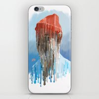 steve zissou iPhone & iPod Skins featuring Steve Zissou by Swancowski