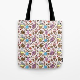 Desserts and Sweets Tote Bag