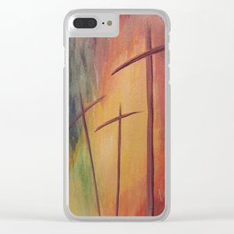 By His Grace Clear iPhone Case