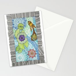 Zen Nympheas  Stationery Cards