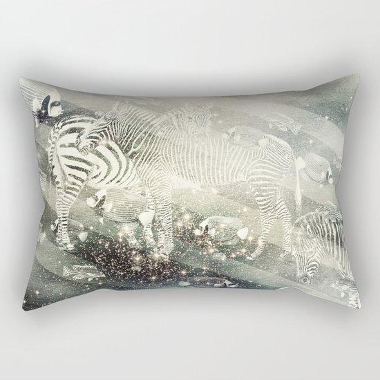 Zebra Way Rectangular Pillow