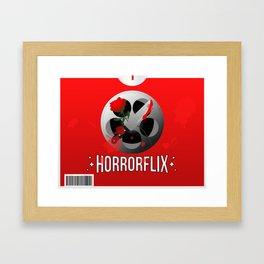 Horrorflix Framed Art Print