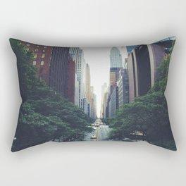 City Park New York 4 Rectangular Pillow