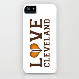 LUV Cleveland iPhone Case