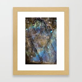 LABRADORITE 1 Framed Art Print
