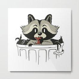 Trash panda Design Metal Print