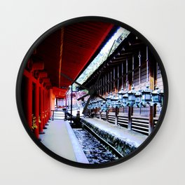 Follow Me (Kyoto, Japan) Wall Clock