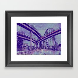 Rome by Night 1 Framed Art Print