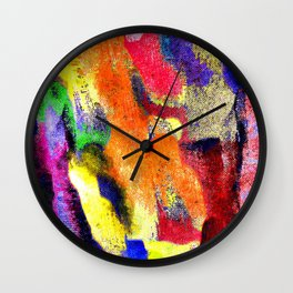 Abstract Poster Wall Clock