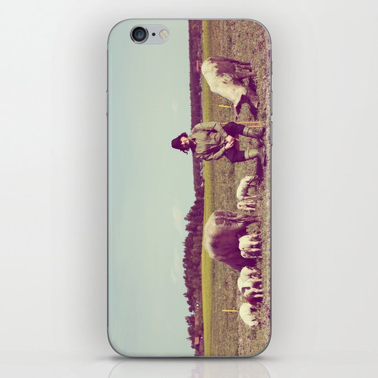 J Crist - Everything Stays Here and Now iPhone Skin
