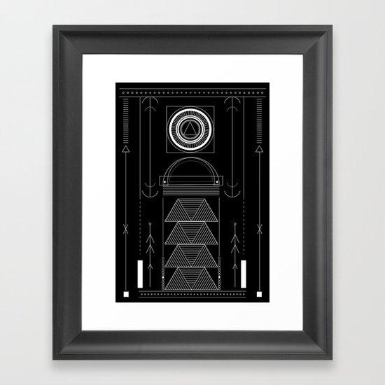 circuit Framed Art Print