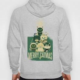 Merry catmas Hoody