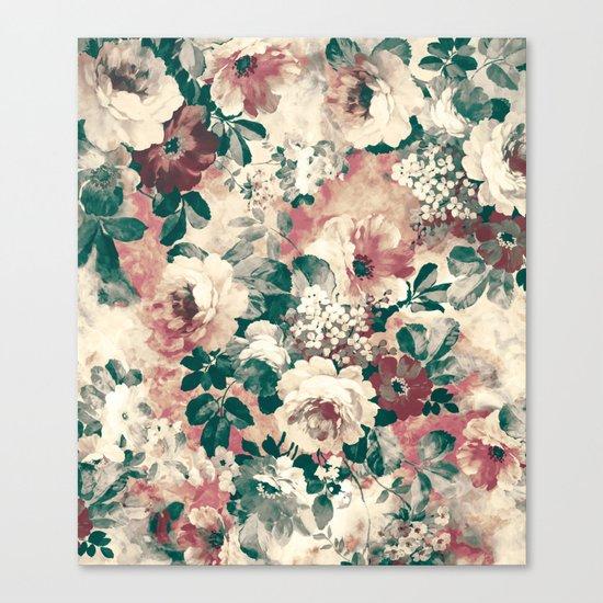 Quiet Garden Movement Canvas Print