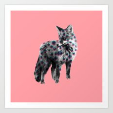 Spotted Fox Art Print