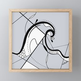 Wave Framed Mini Art Print