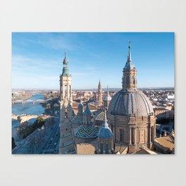 Zargoza, Spain Photograpy Canvas Print