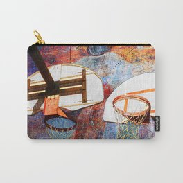 Basketball hoops art Carry-All Pouch