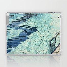 Summertime swimming Laptop & iPad Skin