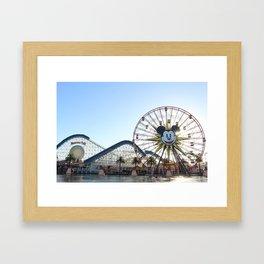 California Adventure, Los Angeles  Framed Art Print