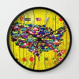 Drive America Wall Clock