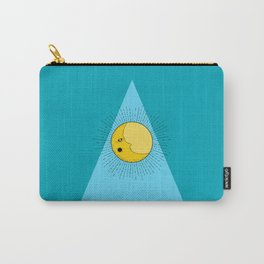 Moon & Beam in Black Carry-All Pouch