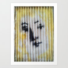 VENUS IN AIR FILTER Art Print
