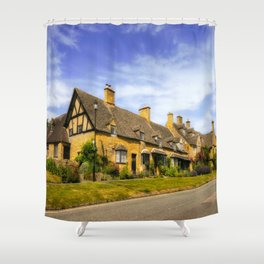 Alluring Cotswolds. Shower Curtain