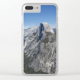 Half Dome from Glacier Point Clear iPhone Case