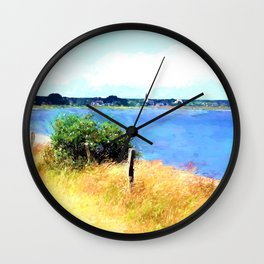 Places on this world Wall Clock