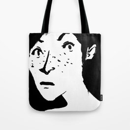 Women portrait Tote Bag