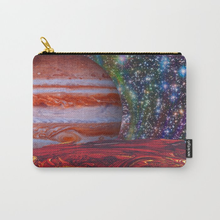 Looking At Jupiter Carry-All Pouch