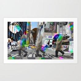 Big Apple Crossing Art Print