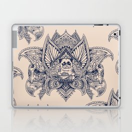 Lotus Mandala Pug Laptop & iPad Skin