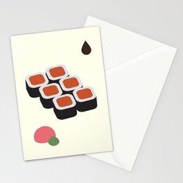 Spicy Tuna Roll Stationery Cards