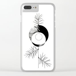 Pine Clear iPhone Case
