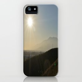 Valley of the Smokes iPhone Case
