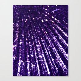 Triton´s Secrets - Dark Purple Canvas Print