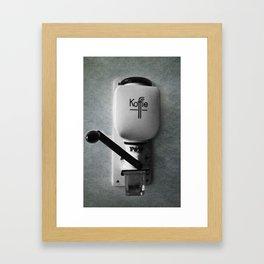 koffie  Framed Art Print