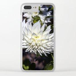 Dahlia / In The Garden / 26 Clear iPhone Case
