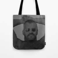 sunglasses Tote Bags featuring Sunglasses by HuskyWorship