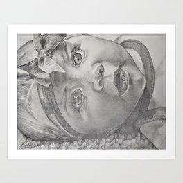 Grandbaby Art Print