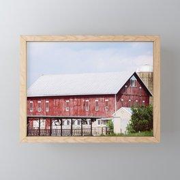 Summer on the Farm Framed Mini Art Print
