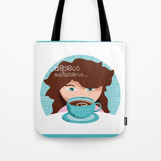 Deseos mañaneros Tote Bag